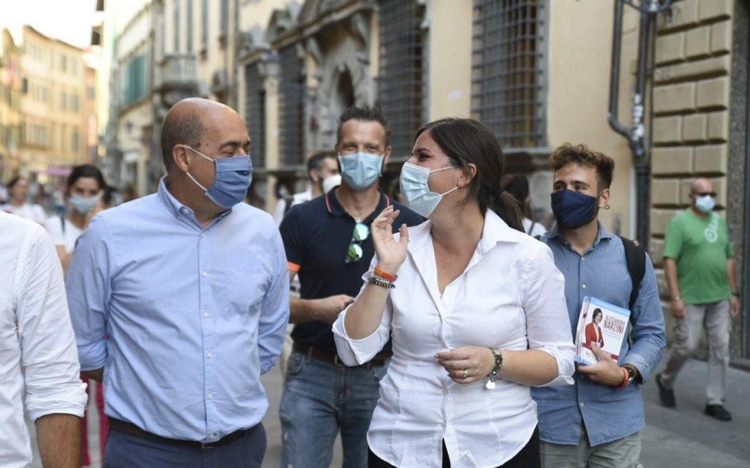 A PISA, insieme a Nicola Zingaretti