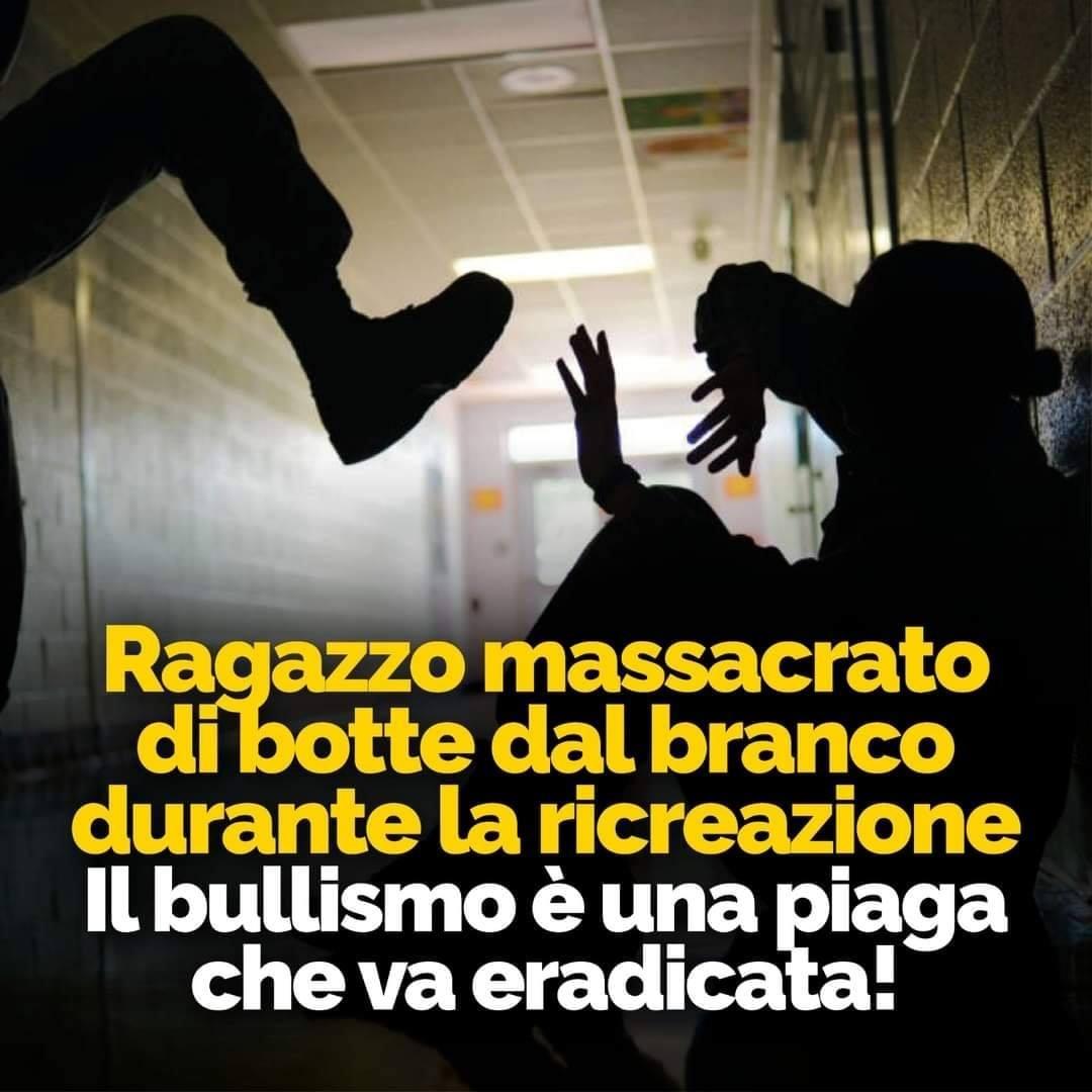 CONTRO OGNI FORMA DI BULLISMO, SEMPRE!