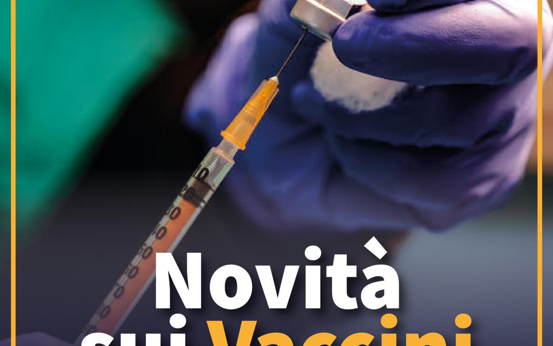 Novità sui vaccini