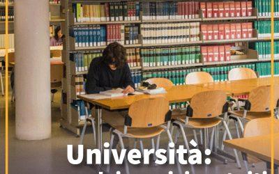 Proroga dei servizi gratuiti per borsisti universitari in scadenza