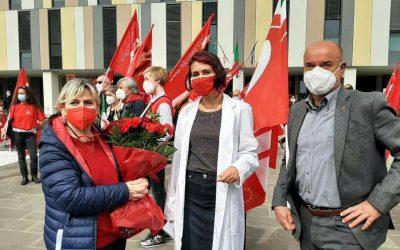 1° maggio con i sindacati