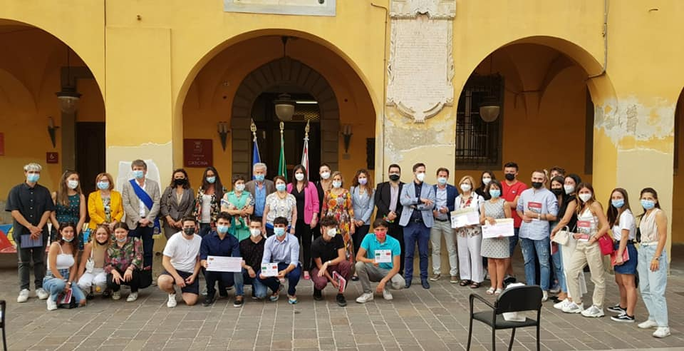 Premiazione progetto di cultura costituzionale della Provincia di Pisa