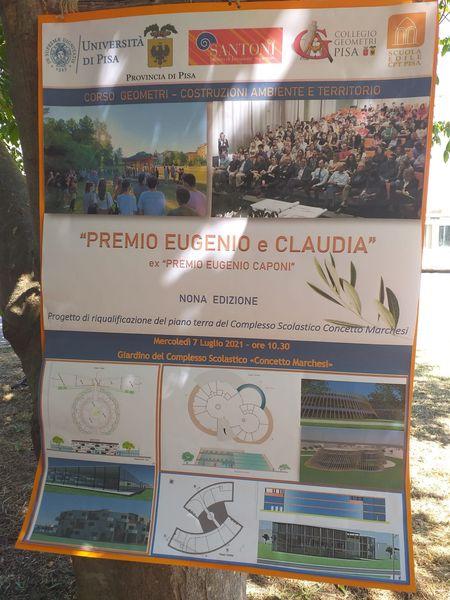 Un premio alla memoria di Eugenio e Claudia