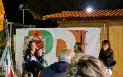 Alla Festa de L'Unità di Fucecchio per un confronto sul Next Generation EU